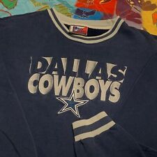 Vintage Dallas Cowboys Crewneck Sweatshirt Adult M Blue Pro Player NFL Football