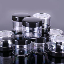 10Pcs Plastic Empty Container Nail Art Storage Box Jewelry Organizer Beads Tools