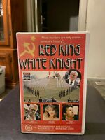 Red King White Knight Ex-rental VHS video tape HTF Russia USSR Gorbachev killer