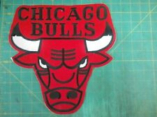 Chicago  BULLS NBA Jersey Patch 11 inches by 11 inches Sew on New but vintage