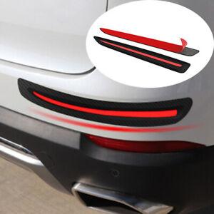 Car Bumper Corner Protector Guard Cover Anti Scratch Rubber Sticker Accessories
