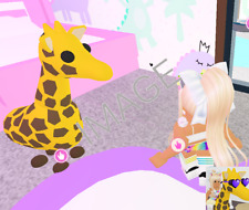 FREE GIRAFFE (FR) GIFT with Image - Legendary Pet from Roblox Adopt Me Pets