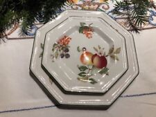 6 Assiettes Thé Johnson Bross Brothers Tea  Plate Fresh Fruit .