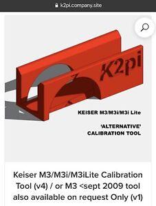 Keiser M3i/M3 Calibration Tool - 3D Printed Alternative. (K2pi)