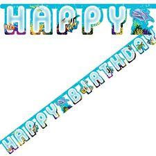 OCEAN PARTY JOINTED BANNER HANGING DECORATION FINDING NEMO DORY UNDER THE SEA