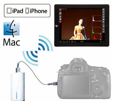 Wifi Liveview Tethered Remote for Canon EOS 1Dx 5Ds 5D3 7D2 60D 700D 650D ipad
