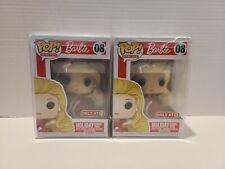 Funko POP Barbie 1988 Holiday Barbie Target Exclusive Retro 08 w/ PROTECTOR