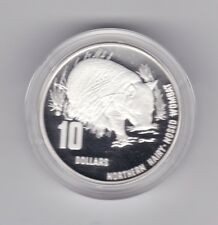 1998 Silver Piedfort $1 Proof Coin Endangered Species Hairy Nosed Wombat