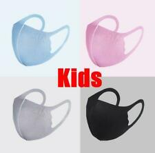2 Pcs Kids Mask Face Masks Washable Protection Reusable