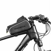 ROCKBROS Fahrrad Tasche Rahmentasche Handy Smartphone Halterung e-Bike MTB Bag