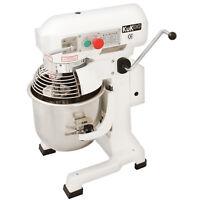 Robot da Cucina Multifunzione 10 Litri con Uncino a Spirale, Frusta e Sbattitore