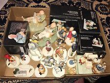 The Wonderful World Of Sebastian Miniatures Figurines Set Of 24