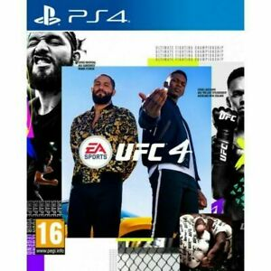 UFC 4 (PS4) PEGI 16+ Sport: Martial Arts Highly Rated eBay Seller Great Prices