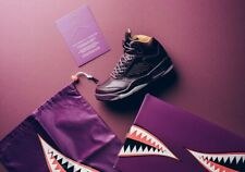 Nike Air Jordan 5 Retro Premium Bordeaux Uk Size 6.5 Eur 40.5 881432-612