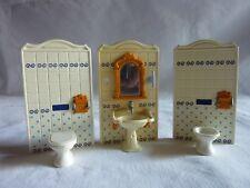 PLAYMOBIL accessoires maison meuble belle époque série rose pièce salle de bain