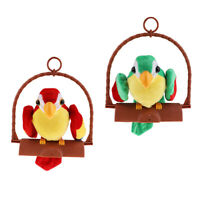 Talking Parrot Toy Imitates Repeats What You Say Kids Children Toys Gift