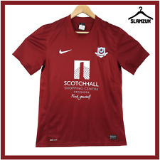 More details for drogheda united football shirt nike m medium home soccer jersey 2013 2014 f57