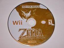 The Legend of Zelda Twilight Princess Nintendo Wii Demo Not For Resale NFR Kiosk