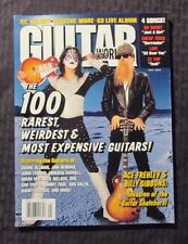 1997 May GUITAR WORLD Magazine FVF 7.0 KISS Ace Frehley Cover - Randy Rhodes
