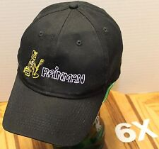 RAINMAN SEAMLESS RAIN GUTTERS SPOKANE WASHINGTON HAT BLACK ADJUSTABLE VGC
