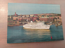 Postkarte Passagierschiff Prinsessan Birgitta Sessanlinjen Göteborg ungel_