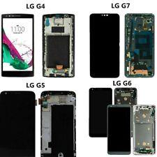 For LG G4 G5 G6 G7 ThinQ LS991 H820 VS998 G710 LCD Touch Screen Digitizer Frame