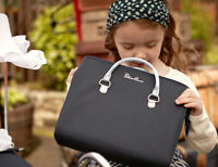 Silver Cross Dolls Pram Changing / Nursery Bag - Navy Blue Oberon chatsworth