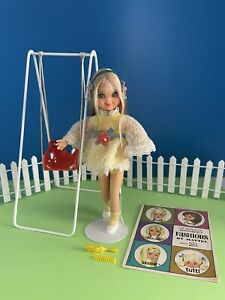 1967 Vintage Barbie SWING-A-LING TUTTI #3560 COMPLETE With VHTF SWING!