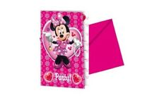 Minnie Mouse Party Invitations (Pack of 6)