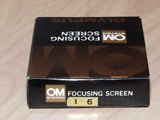 OLYMPUS OM FOCUSING SCREEN 1-6 NEW IN BOX