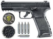 Pack Pistolet Home Defense T4E TPM1 Cal .43 + Boite de 100 billes caoutchouc