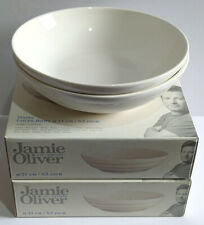Jamie Oliver Waves Coupe Bowls 21cm, Off White x 2 Boxed - Please Read.