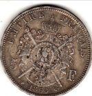 a saisir 5 FRANCS NAPOLEON III LAUREE 1868 BB
