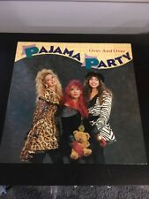Pajama Party - Over And Over 12""