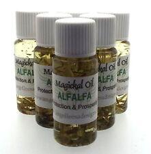 ALFALFA Herbal Magia Unción 10ml Aceite prosperidad Protección