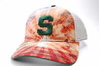 Michigan State Spartans The Game NCAA Brilliant Mesh Back Snapback Cap Hat