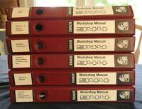 1982-1989 Porsche 944 Workshop Service Repair Manual Set (6) BOOKS VERY NICE