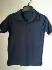 Nautica Boy's Navy Polyester Polo Shirt Size 10-12 School Uniform