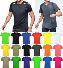 Herren Funktionsshirt kurzarm Running Sportshirt Laufshirt atmungsaktiv schnellt