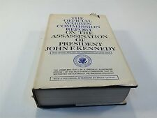 The Official Warren Commission Report on The Assassination of JFK HC/DJ 1964