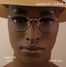 American Optical Numont Tri-Flex Ful-Vue Crossley 12k Gold Fill True Antique Eye