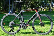 New Carbon Road Look 795 BLADE RS DISC BLACK RED GLOSSY MAT 2020 Model Size XS