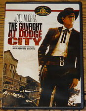 THE GUNFIGHT AT DODGE CITY 1959 WITH SUBTITLES MGM OOP R1 DVD SENT FROM UK