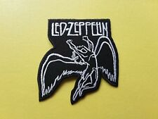 POP, ROCK, PUNK, METAL MUSIC SEW ON & IRON ON PATCH:- LED ZEPPELIN