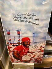 Rare Ken Griffey Jr Nike 600 HR Poster 19x36 Original Packaging Rolled