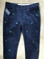 "RALPH LAUREN POLO BLUE F CLASSICS CORDUROY CHINOS TROUSERS PANTS - 34""  NEW TAGS"