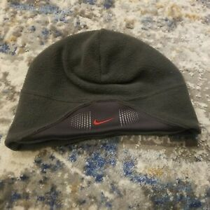 Nike - Gray Fleece Winter Hat Cap - One Size