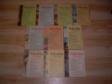 #34 Lot of all 10 months Sélection du Reader's Digest Year 1964