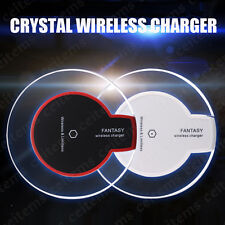 Slim Qi Wireless Charger Pad for Samsung Galaxy S9 S9+ S8 Note 8 iPhone X 8 Plus