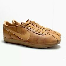 07495a2b Vintage 80s Nike Village Leather Casual Sneakers Mens Size 7.5 USA Made Rare